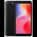 "Xiaomi Redmi 6 13.8 cm (5.45"") 3 GB 32 GB Dual SIM 4G Black 3000 mAh"