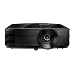 Optoma H185X data projector Ceiling / Floor mounted projector 3700 ANSI lumens DLP WXGA (1280x800) 3D Black