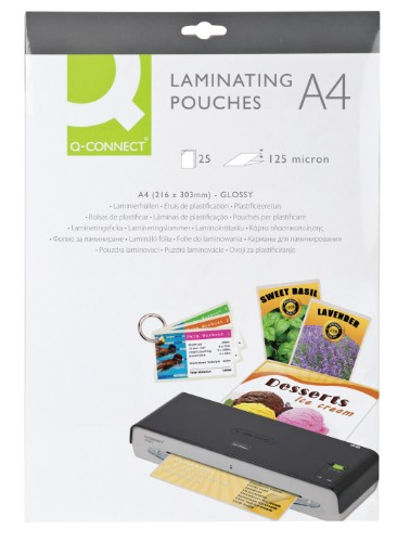 Q-CONNECT KF04120 laminator pouch