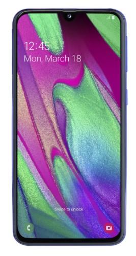 """Samsung Galaxy SM-A405F 15 cm (5.9"""") 4 GB 64 GB Dual SIM 4G Blue 3100 mAh"""