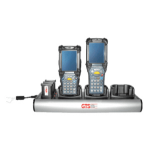 GTS HCH-9033-CHG charging station organizer Desktop mounted Aluminium Black, Silver