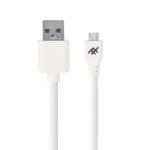 ZAGG Uniquesync mobiele telefoonkabel USB-A Micro USB Wit 1,8 m