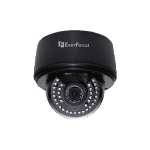 EverFocus EDN3260 indoor Dome Black security camera