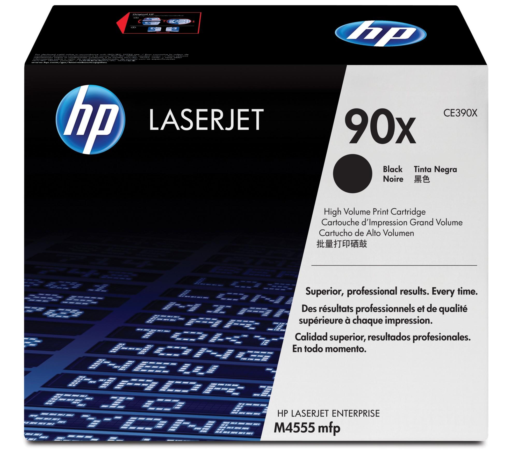 HP 90X Origineel Zwart 1 stuk(s)