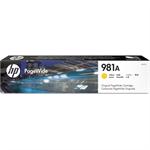 HP J3M70A (981A) Ink cartridge yellow, 6K pages, 69ml
