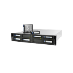 Tandberg Data RDX QuikStation 8 tape auto loader/library 2U Black,White