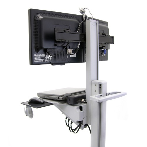Ergotron Neo-Flex Dual WideView WorkSpace Multimedia cart Grey