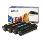 Katun 44203 compatible Toner cyan, 9.5K pages @ 5% coverage (replaces Ricoh TYPE MPC 2551 HE)