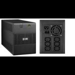 Eaton 5E1100iUSB Line-Interactive 1100VA 6AC outlet(s) Tower Black uninterruptible power supply (UPS)