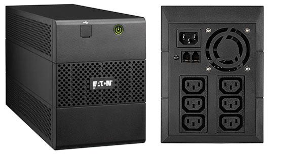 Eaton 5E1100iUSB sistema de alimentación ininterrumpida (UPS) 1100 VA 6 salidas AC Línea interactiva