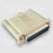 Videk SCSI Terminator DB25M Passive White SCSI cable
