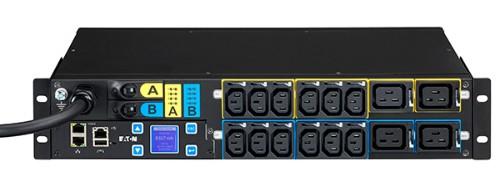 Eaton EMAH06 power distribution unit (PDU) 2U Black 16 AC outlet(s)