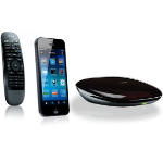 Logitech Harmony Smart Control Bluetooth Black remote control