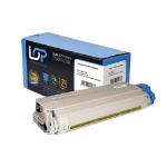 Click, Save & Print Remanufactured Oki 43324421 Yellow Toner Cartridge