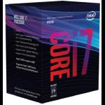 Intel Core ® ™ i7-8700 Processor (12M Cache, up to 4.60 GHz) 3.2GHz 12MB Smart Cache Box processor
