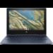 "HP Chromebook x360 11 G3 EE Blauw 29,5 cm (11.6"") 1366 x 768 Pixels Touchscreen Intel® Celeron® N 4 GB LPDDR4-SDRAM 32 GB eMMC Wi-Fi 5 (802.11ac) Chrome OS"
