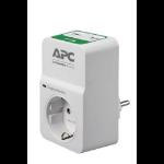 APC PM1WU2-RS limitador de tensión 1 salidas AC 230 V Blanco