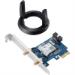 ASUS PCE-AC58BT WLAN / Bluetooth 1733 Mbit/s Interno