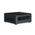 Intel NUC BOXNUC7CJYSAL3 PC/workstation Intel® Celeron® J4005 4 GB DDR4-SDRAM 32 GB eMMC UCFF Black Mini PC Windows 10 Home