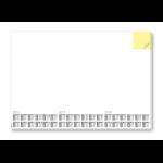 Sigel HO490 desk pad White Paper