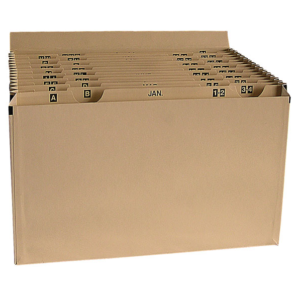 Cathedral Products Manila Expanding File 16 Pockets