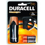 Duracell BIK-F01WDU Bike flashlight LED Black flashlight