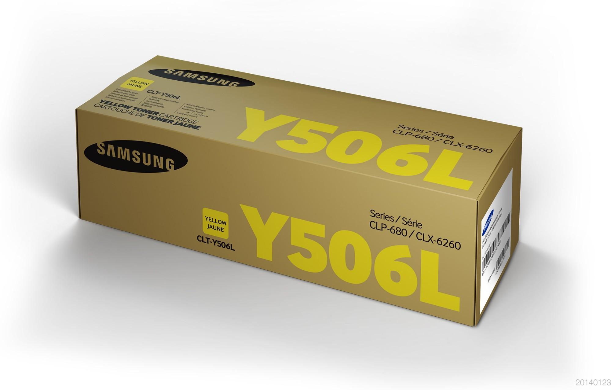 Samsung CLT-Y506L Original Amarillo 1 pieza(s)