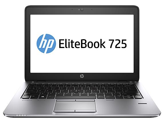 "HP EliteBook 725 G2 2GHz A8-7150B 12.5"" 1366 x 768pixels 3G Black,Silver Notebook"