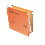 Rexel Crystalfile Classic '330' Lateral File 15mm Orange (50)