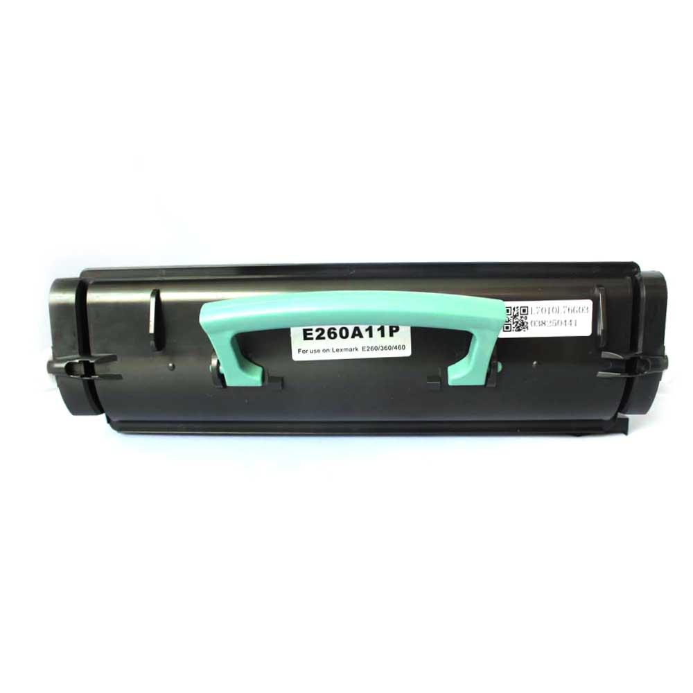 Remanufactured Lexmark OE260A11E Black Toner Cartridge