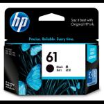 HP INKJET CARTRIDGE HP 61 CH561WA BLACK ( EACH )