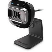 Microsoft LifeCam HD-3000 webcam 1 MP 1280 x 720 pixels USB 2.0 Black