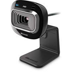 Microsoft LifeCam HD-3000 webcam 1 MP 1280 x 720 pixels USB 2.0 Black