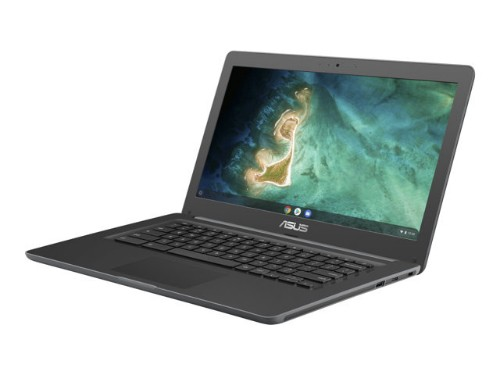 """ASUS Chromebook C403NA-FQ0034 LPDDR4-SDRAM 35.6 cm (14"""") 1366 x 768 pixels Intel® Celeron® 4 GB 32 GB eMMC Wi-Fi 5 (802.11ac) Chrome OS Grey"""