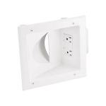 Monoprice 8476 socket-outlet White