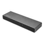 StarTech.com Thunderbolt 3 Dock - Mac & Windows - Dual 4K 60Hz - 85W Power Delivery