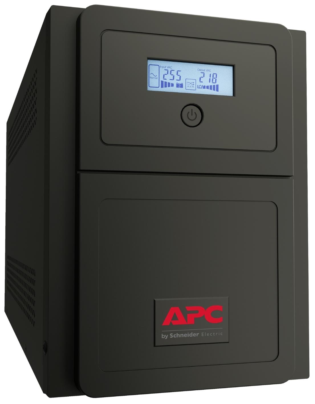 APC Easy UPS SMV sistema de alimentación ininterrumpida (UPS) Línea interactiva 1500 VA 1050 W 6 salidas AC