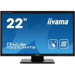 "iiyama ProLite T2253MTS-B1 touch screen monitor 54.6 cm (21.5"") 1920 x 1080 pixels Dual-touch Tabletop Black"