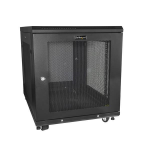 "StarTech.com 12U Server - 4-Post Adjustable Depth (2"" to 30"") Network Equipment Rack Enclosure w/Casters/Cable Management/Shelf /Locking Dell PowerEdge HP ProLiant ThinkServer"