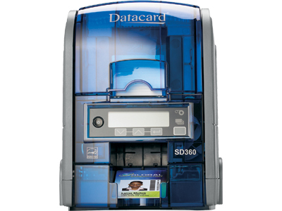 DataCard SD360 Dye-sublimation Colour 300 x 300DPI Black,Blue plastic card printer