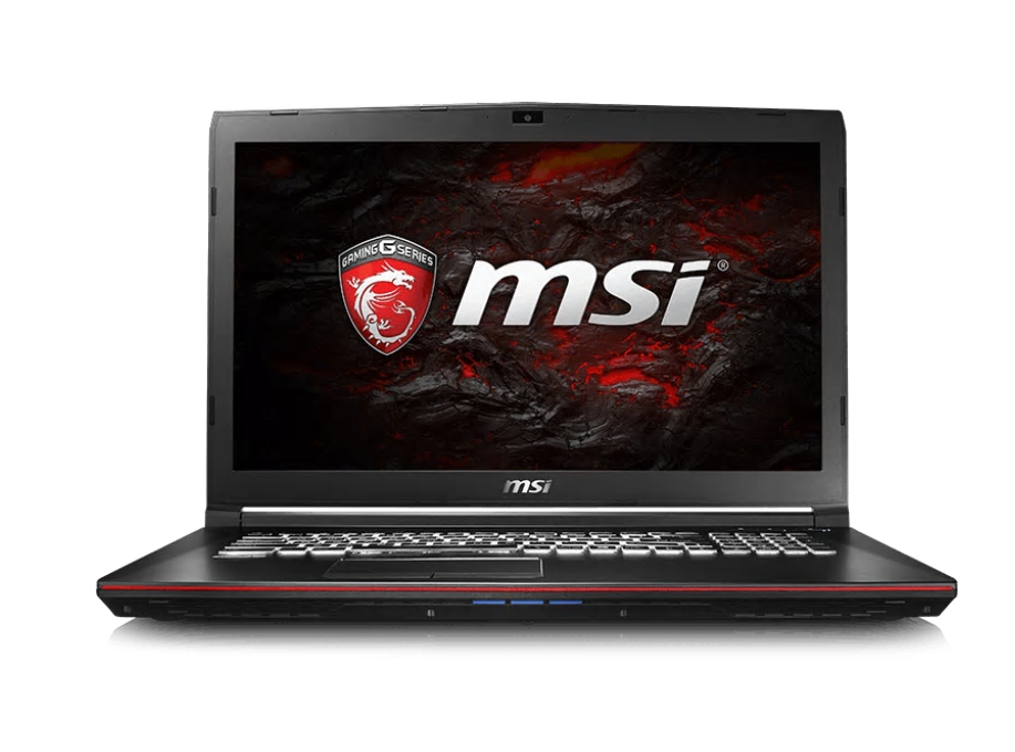"MSI Gaming GP72 7RE (Leopard Pro)-227UK 2.8GHz i7-7700HQ 17.3"" 1920 x 1080pixels Black Notebook"
