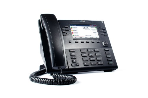 Mitel 80C00003AAA-A IP phone Black Wired handset LCD 24 lines