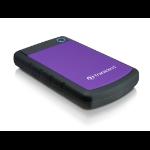 Transcend StoreJet 25H3P (USB 3.0), 2TB external hard drive 2000 GB Black,Violet