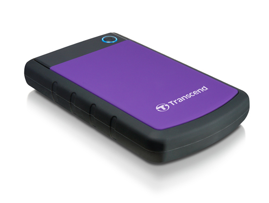 Transcend StoreJet 25H3P (USB 3.0), 2TB 2000GB Black,Violet external hard drive