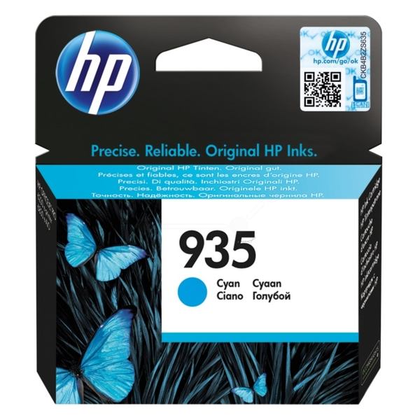 HP C2P20AE#301 (935) Ink cartridge cyan, 400 pages, 5ml