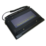 Topaz Systems T-S461-HSB-R signature capture pad Black