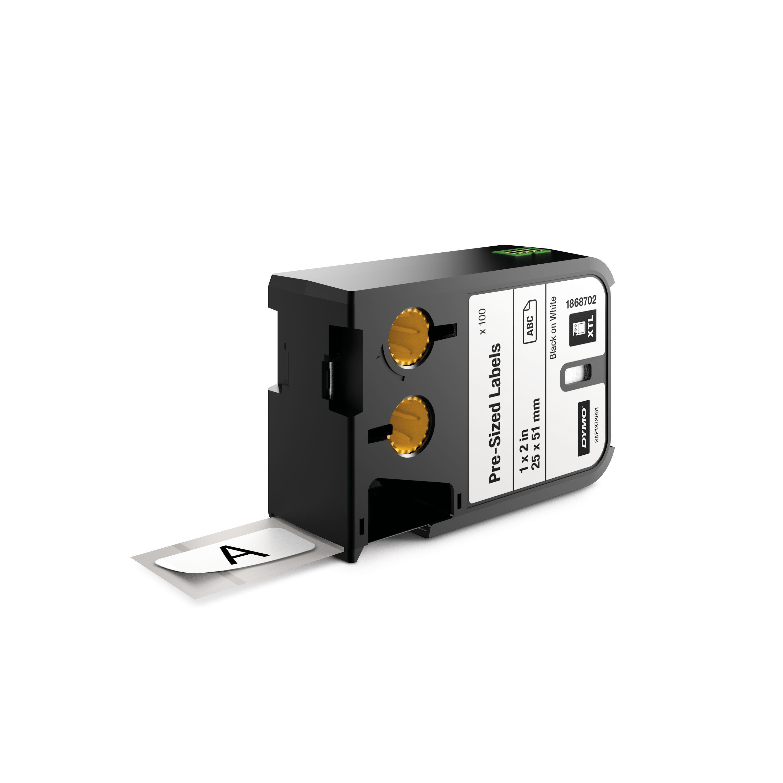 DYMO 1868702 Black on white label-making tape
