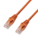 MCL 1m Cat6a U/UTP cable de red U/UTP (UTP) Naranja