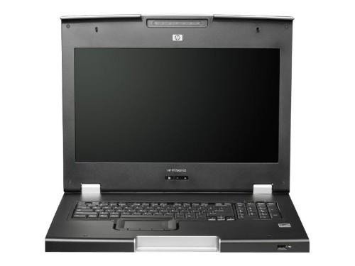 "Hewlett Packard Enterprise TFT7600 G2 KVM Console Rackmount Keyboard BE Monitor 17.3"" 1440 x 900pixels 1U rack console"