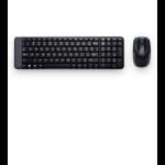 Logitech MK220 RF inalámbrico Negro